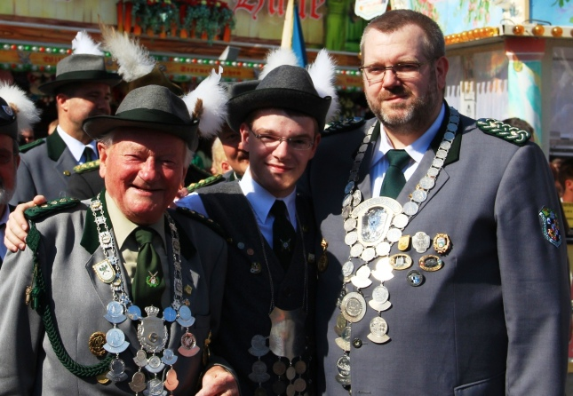 Drei Pistolenkönige